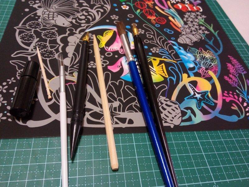 まとめ:スクラッチアートペンの代用は8個のアイテムを活用しよう